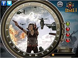 Resident Evil Retribution – Find the Alphabets