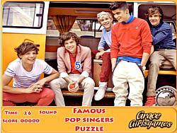 Famous Pop Singers Puzzle