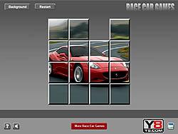 Ferrari Sliding Puzzle