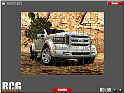 Ford Car Jigsaw