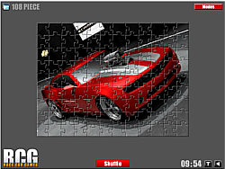 Chevrolet Car Jigsaw